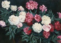 Frederick Waugh  'Peonies'