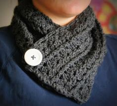 Neck Warmer Pattern - have to scroll down