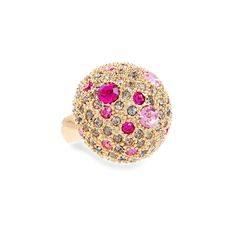 Half Dome Pave Ring $38.00
