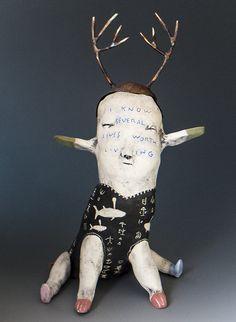 Morgan Brig | Mixed Media Sculpture - another great big wow