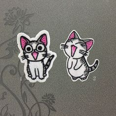 Lovely Pet Chi Cat patches iron on patches Sew on by FeltFabricool