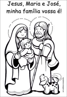Colorear el nacimiento de Jesus  COLOREAR BIBLICOS  Dibujo para