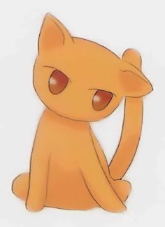 Kyo Sohma (cat form). (Fruits Basket). Oh Kyo is so CUTE!!!