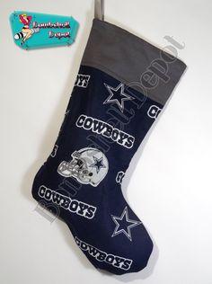 Dallas Cowboys Football Christmas Stocking