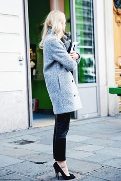 Paris_Fashion_Week_Fall_14-Street_Style-PFW-_Stella_McCartney-Grey_Coat-