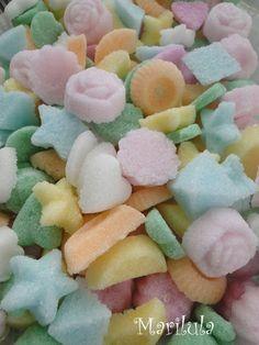 Como hacer terrones de azúcar divertidos