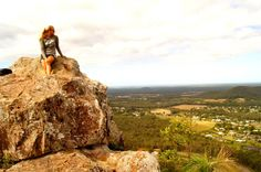 Glass House Mountains, Australia