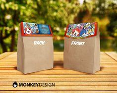 Yo-Kai Bag Topper Yo-Kai Treat Bag Topper by MonkeyDesignShop