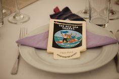 Tintin wedding favours