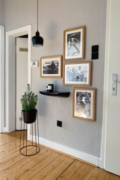 Decor, Flat Ideas, Interior, Gray Painted Walls, Wall, Home Decor, Bedroom Decor, Interior Design, Interior Inspo