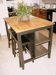 Portable Kitchen island with Seating. 20 Portable Kitchen island with Seating. Small Kitchen islands with Seating for 2 Kitchen Amazing Kitchen Island On Casters, Kitchen Island With Seating, Kitchen Benches, Kitchen Carts, Kitchen Island Against Wall, Portable Kitchen Island, Diy Kitchen Island, New Kitchen, Kitchen Remodeling