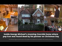 Inside George Michael's stunning house in Goring-on-Thames where pop ico...