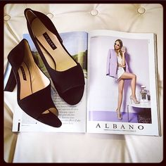 Albano shoes on magazine!! Discover all collection on website www.albano.it