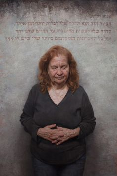 "BP Portrait Award Third Prize winner (2014) David Jon Kassan  - ""Letter To My Mom"" - The Winner Portrait"