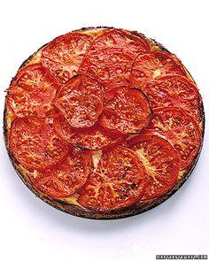 tomato-ricotta tart (for brunch with the girls)