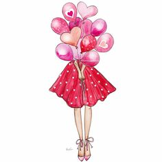Birthday girl drawing illustrations 52 Ideas for 2020 Calin Gif, Girly Drawings, Digital Art Girl, Birthday Images, Birthday Balloons, Cartoon Art, Cute Wallpapers, Girl Birthday, Illustration Art