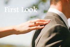 First Look: ¿de dónde viene la tradición de no poder vernos antes de la boda?