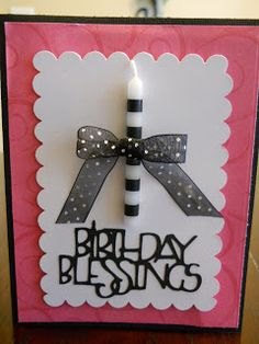 Craft-T-Creations: Birthday Candle