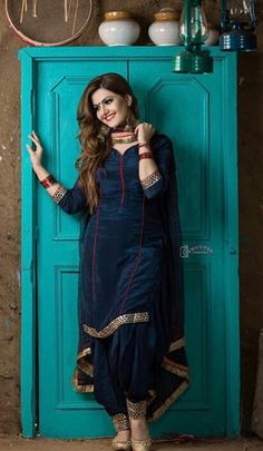 Shop salwar suits online for ladies from BIBA, W & more. Explore a range of anarkali, punjabi suits for party or for work. Salwar Suits Party Wear, Punjabi Salwar Suits, Punjabi Dress, Patiala Salwar, Party Wear Indian Dresses, Sharara, Patiala Suit Designs, Kurta Designs Women, Kurti Designs Party Wear
