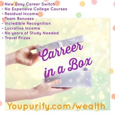 http://ift.tt/2huoTAS How would you like to have a career or mini career doing something that will generate you more money than a 9-5pm job in our society. How would you like to e your own boss set your own hours work as hard as you want to where you can achieve your goals faster and become an entrepreneur! No long expensive college classes no years of study needed just the desire and will to achieve your greatest dreams. Message me today to start right way and to learn more…