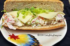 Imitation Crab Salad Sandwich