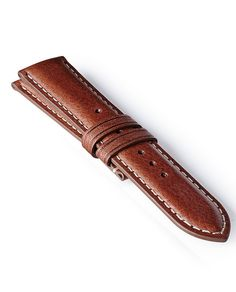 Bremont Leather Strap Brown-White 22mm Regular #add-content #brand-watch-straps #classic #delivery-timescale-1-2-weeks #material-leather #official-stockist-for-bremont #packaging-bremont #subcat-bremont-straps-22mm #supplier-model-no-br-162-1008