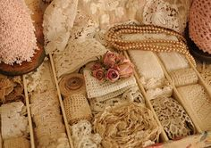 Faith, Grace, and Crafts: Pearls and Lace Thursday 109 Drawers of Lace