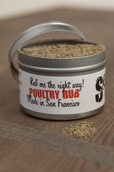 Poultry Rub - 2 oz tin