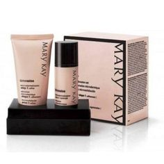 Mary Kay Timewise Microdermabrasion Set Brand New. Authentic. Retail 55.00. Price firm. No free ship.  This two-part system immediately fights fine lines, reduces the appearance of pores, and creates noticeably softer, smoother-feeling skin with a healthy, more radiant-looking glow. Step 1: Refine – Key exfoliating crystals immediately energize skin and reveal more radiant, healthy-looking skin. Step 2: Replenish – Nourishes the soft, smooth-feeling skin revealed by Step 1: Refine. Oil- and…