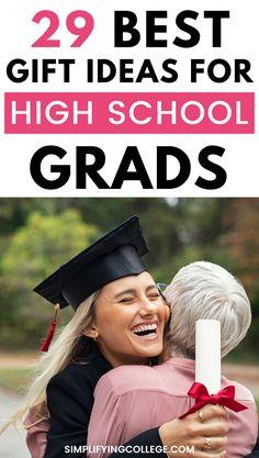 High School Graduation Gifts, Graduation Parties, Graduation Diy, Graduate School, High School Seniors, Gifts For Girls, Dorm Room, Best Friends, Best Gifts