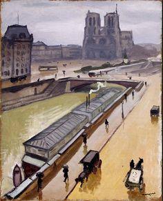 Rainy day in Paris  Albert Marquet (1875 – 1947)