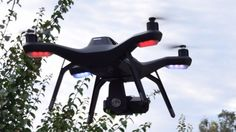 Using an image-processing system, the drone can detect vital signs even in people who are moving.