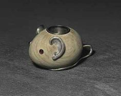 A Jeweled Silver-Mounted And Sandstone Match Holder And Strike In The Form Of A Mouse, Marked Fabergé, With The Workmasters Mark Of Julius Rappoport, St. Petersburg, Circa 1890