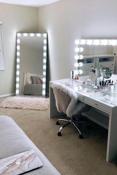 Cute Bedroom Decor, Room Design Bedroom, Teen Room Decor, Stylish Bedroom, Room Ideas Bedroom, Neon Bedroom, Pinterest Room Decor, Beauty Room Decor, Makeup Room Decor