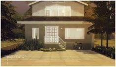 ideas4sims: Simply Living | Sims 4 Sims 2 House, Gazebo, Outdoor Structures, Mansions, Live, House Styles, Houses, Home Decor, Art