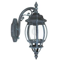Buiten wandlamp zwart groen neerwaarts outdoor Eglo 4175