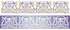 art nouveau iris design   Home / Art Nouveau Iris