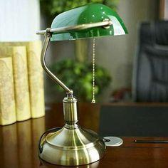 Stojąca LAMPKA biurkowa BANKIERSKA LDT 8822 GR Lumina Deco metalowa LAMPA stołowa regulowana zielony #lampastolowa #nowoczesneoswietlenie #modernlighting #interiorlighting #interiordesign #wystrojwnetrz #rozswietlamywnetrza #mlamp