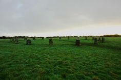 This late Stone/early Bronze Age (2500-1500BC) stone circle is renowned for both its beauty and the stories connected to it. It lies in a gently sloping field between Lamorna and St Buryan, a stone's throw from Tregiffian barrow and a number of other ancient sites, and its remarkable qualities were first recorded in the C17th.   The regularity of spacing between stones and its truly circular form make the Boleigh Merry Maidens unusual in Cornwall
