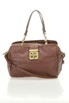 Chloe Elsie Crossbody Bag In Brown