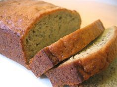 Banana Bread made easy. What do you do with those one or two over ripened bananas? I make a delicious, moist banana bread out of mine. Here I give you a wonderful banana bread recipe that is quick and easy to make. Paleo Banana Bread, Banana Nut, Sour Cream Banana Bread, Low Carp, Almond Flour Bread, Oat Flour, Bolo Fit, Bolo Cake, Gluten Free Breads