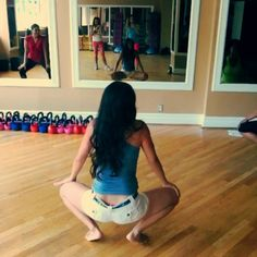 click through to see the Hourglass Workout Twerk Fun Day! :-)