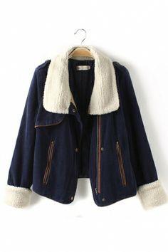 Vintage Wool Lapel Coat Corduroy Outerwear GREAT Weekend Wear!  vintage   style  coat 66da8022a7