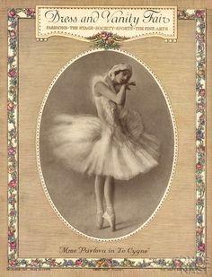 Anna Pavlova - Vanity Fair Magazine [United States] (December 1913)