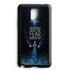 Disney Frozen Elsa Castle Apple Logo Samsung Galaxy Note 4 Case