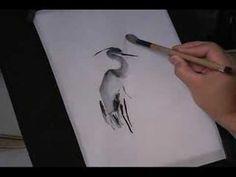 Chinese Brush Painting Basic Lesson 1:2