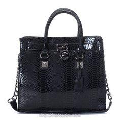 ba8559e98efaec Michael Kors Handbags MK 56 Series Satchels Black Lock Black WBMKHB150067 Michael  Kors Outlet, Michael