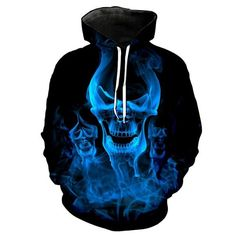 51907eb73 3D Hoodies Men Melted Skull 3D Full Print Novelty Hoody Sweatshirt Fashion  Pullover Tracksuits Streetwear Harajuku Tops Hipster