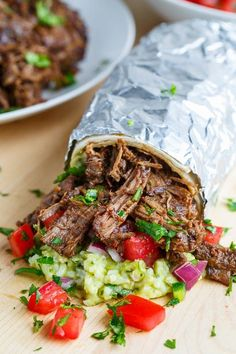 """BARBACOA BURRITOS RECIPE: ~ From: """"CLOSET COOKING.COM:"""" ~ Recipe Courtesy Of: """"KEVIN LYNCH"""" ~ Prep Time: 15 minutes: Total Time: 15 minutes: Servings: 4. ***  The beef barbacoa can be made in the slow cooker with almost no effort and then the burritos are as easy as throwing the beef barbacoa along with your favorite burrito fillings into the tortilla and wrapping it up!"""