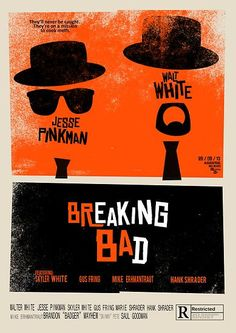 Breaking bad parody of Saul Bass Blues Brothers Poster Saul Bass Posters, Gus Fring, Olly Moss, Poster Prints, Framed Prints, Poster Poster, Jesse Pinkman, Plakat Design, Blues Brothers